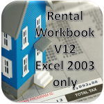 Rental Workbook V12 FULL Version UnZipped for Excel 2007 or 2003