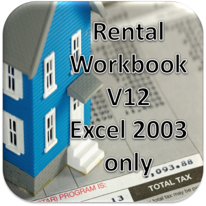 Rental Workbook V12 FULL Version UnZipped for Excel 2003