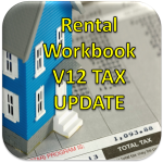 Version 12 GREEN Rental Workbook Tax Year Update