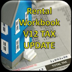 Version 12 Rental Workbook Tax Year Update